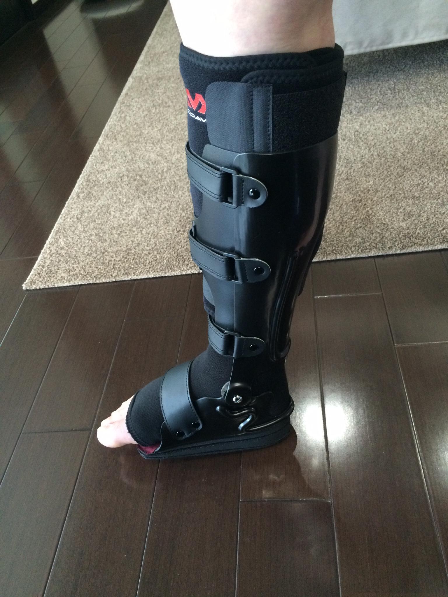 アキレス腱断裂用装具 - 株式会社ケイ・ブレース ( 熊本県菊池市 | 義肢・義足・装具製造)